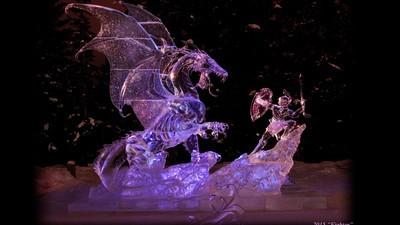 Die gefrorenen Prachtwerke der Eiskunst-Weltmeisterschaften