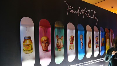 Artist Paul McCarthy Designed Surreal Skate Decks for Charity