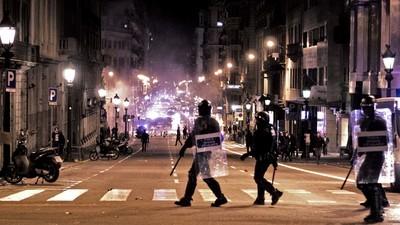 ¿Es Barcelona una ciudad violenta?