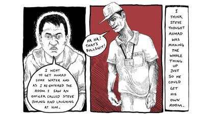 The Webcomic That Documents Life in Australia's Immigration Detention Centers