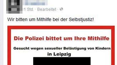 Leipziger Neonazis haben per Steckbrief zu Lynchjustiz an einem Journalisten aufgerufen