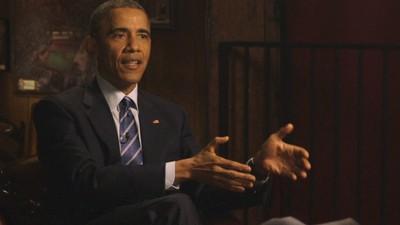 """Obama heeft """"plaatsvervangende schaamte"""" voor de Republikeinen die een brief aan Iran stuurden over nucleaire afspraken"""