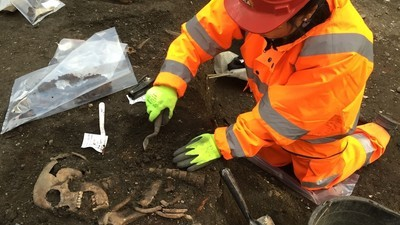 I Took a Clairvoyant to the Excavation Site of a Mass Burial Pit for Plague Victims