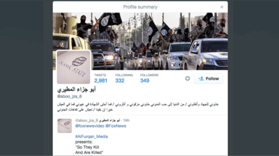 We Spoke with the Twitter User Who Publicly Released Thousands of Islamic State Accounts