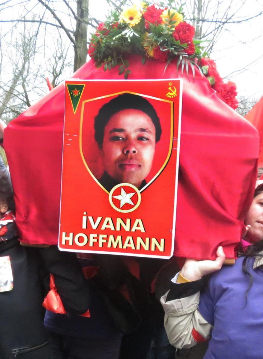 Ivana Hoffmanns Trauerfeier