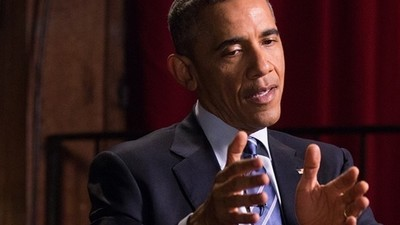 Barack Obama fala com a VICE News
