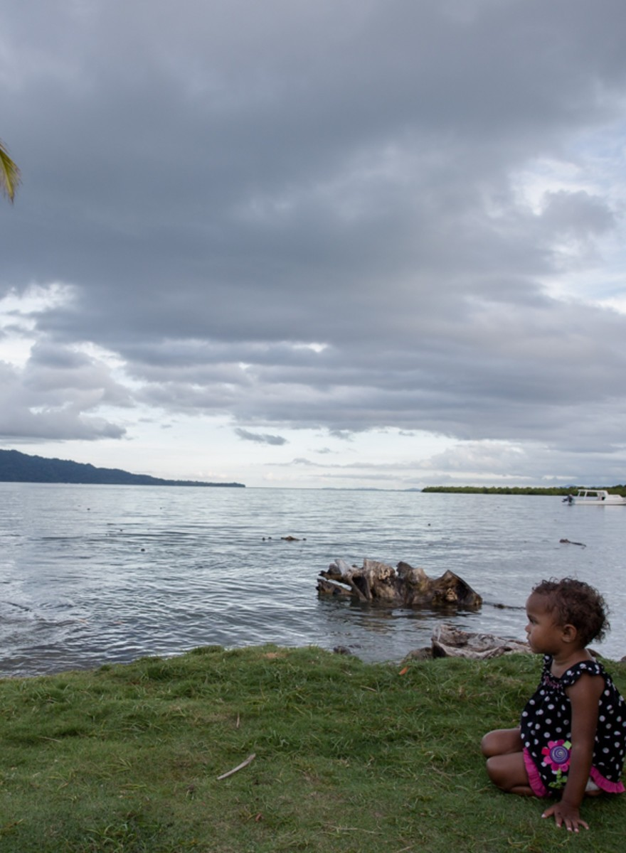 Photographing Fiji's Sinking Island Communities