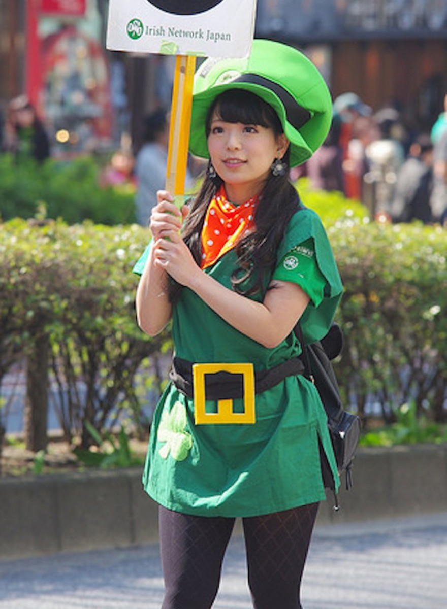 Photos of St. Patrick's Day in Tokyo