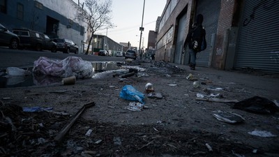 How New York's Massive Homeless Population Endured Winter 2015
