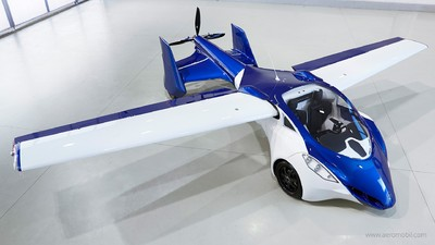 Look at This Badass New Flying Car That You Will Probably Never Own