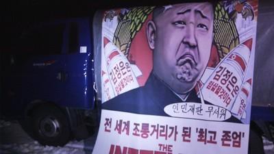 Ballon-Angriff auf Nordkorea: Propaganda über Pjöngjang