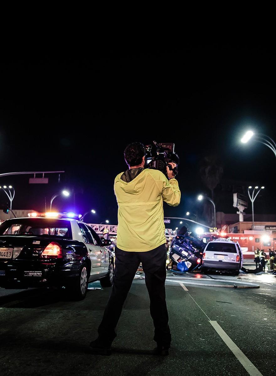 Bloederige nachten in Los Angeles