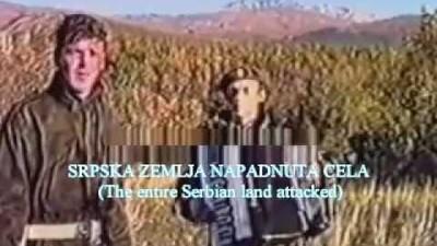 Válečné písně bývalé Jugoslávie