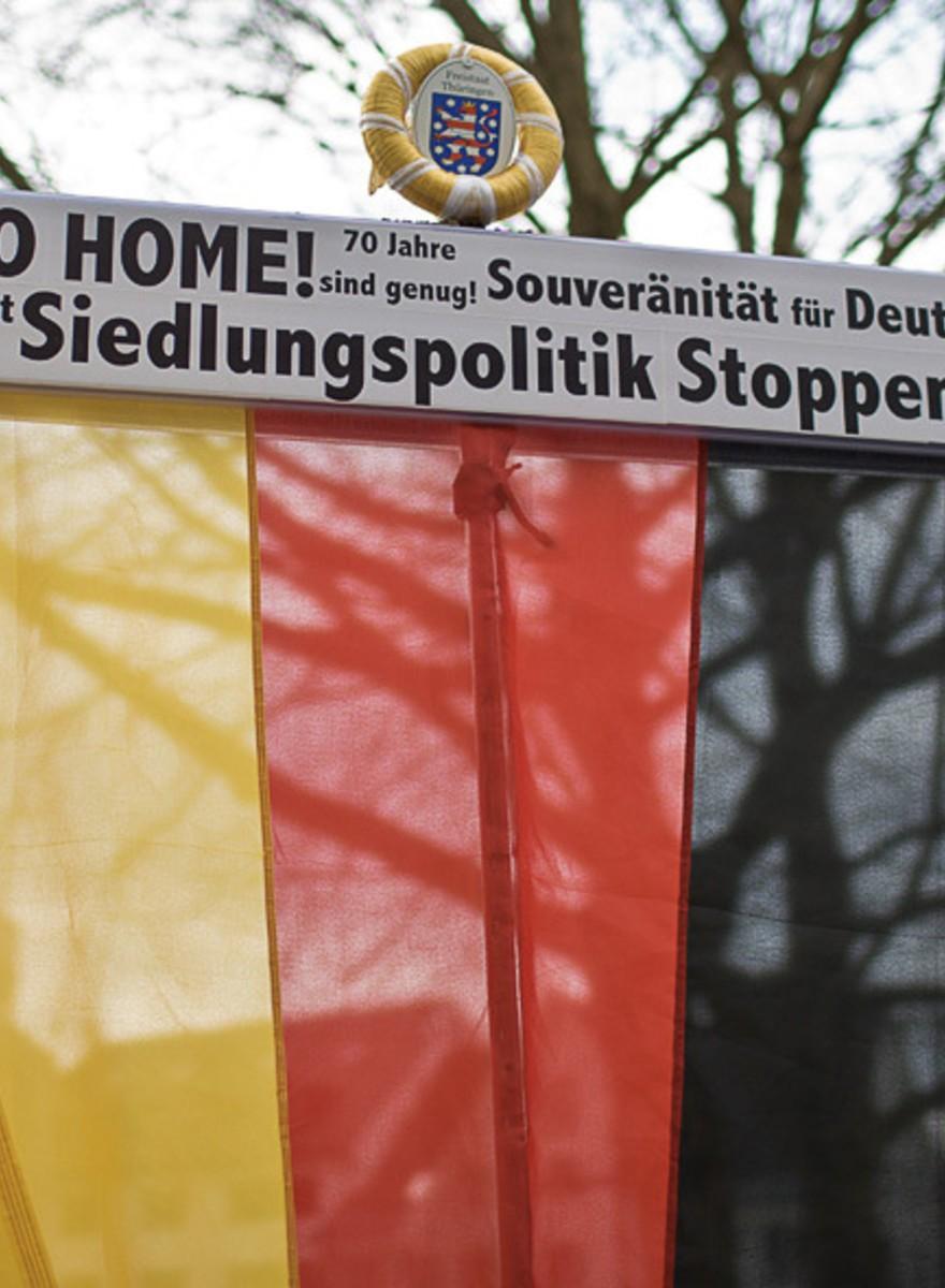Pegida Vorarlberg setzt sein österreichisches Trauerspiel fort