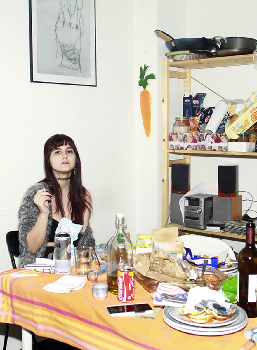 Foto delle case di giovani italiane che vivono da sole