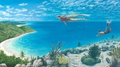 Las alucinantes pinturas de Rob Gonsalves