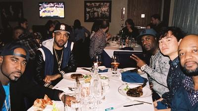 Mit G-Unit im Steakrestaurant