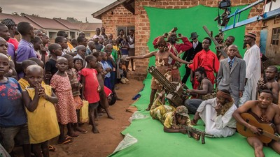 Der Versuch eines ugandischen Filmemachers, die Welt mit der besten Low-Budget-Action zu erobern