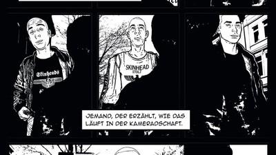 Weisse Wölfe: eine Graphic Novel über rechten Terror