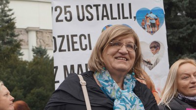 Anna Grodzka is de eerste transgender presidentskandidaat van Polen