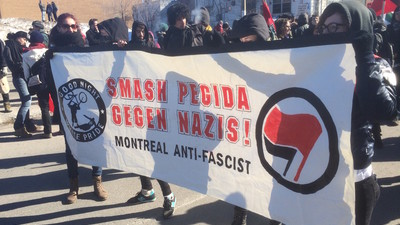 Islamophobes and Anti-Islamophobes Protested Against Each Other in Montreal This Weekend