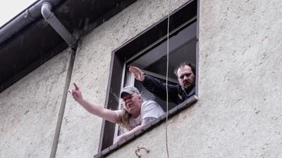 Ausnahmezustand in Dortmund: Hitlergrüße sind OK, Neonazis blockieren aber nicht