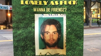 Meet the Guy Who Tried to Make Friends by Putting Up Flyers in LA