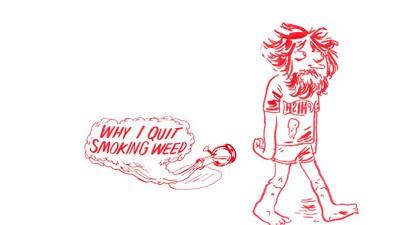 Por qué dejé de fumar hierba
