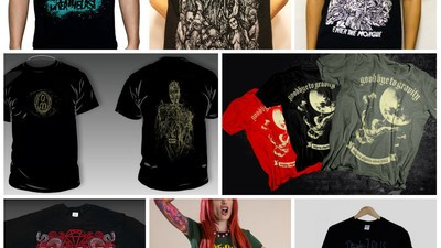 Tricouri româneşti de metalişti, mai tari ca alea de la H & M