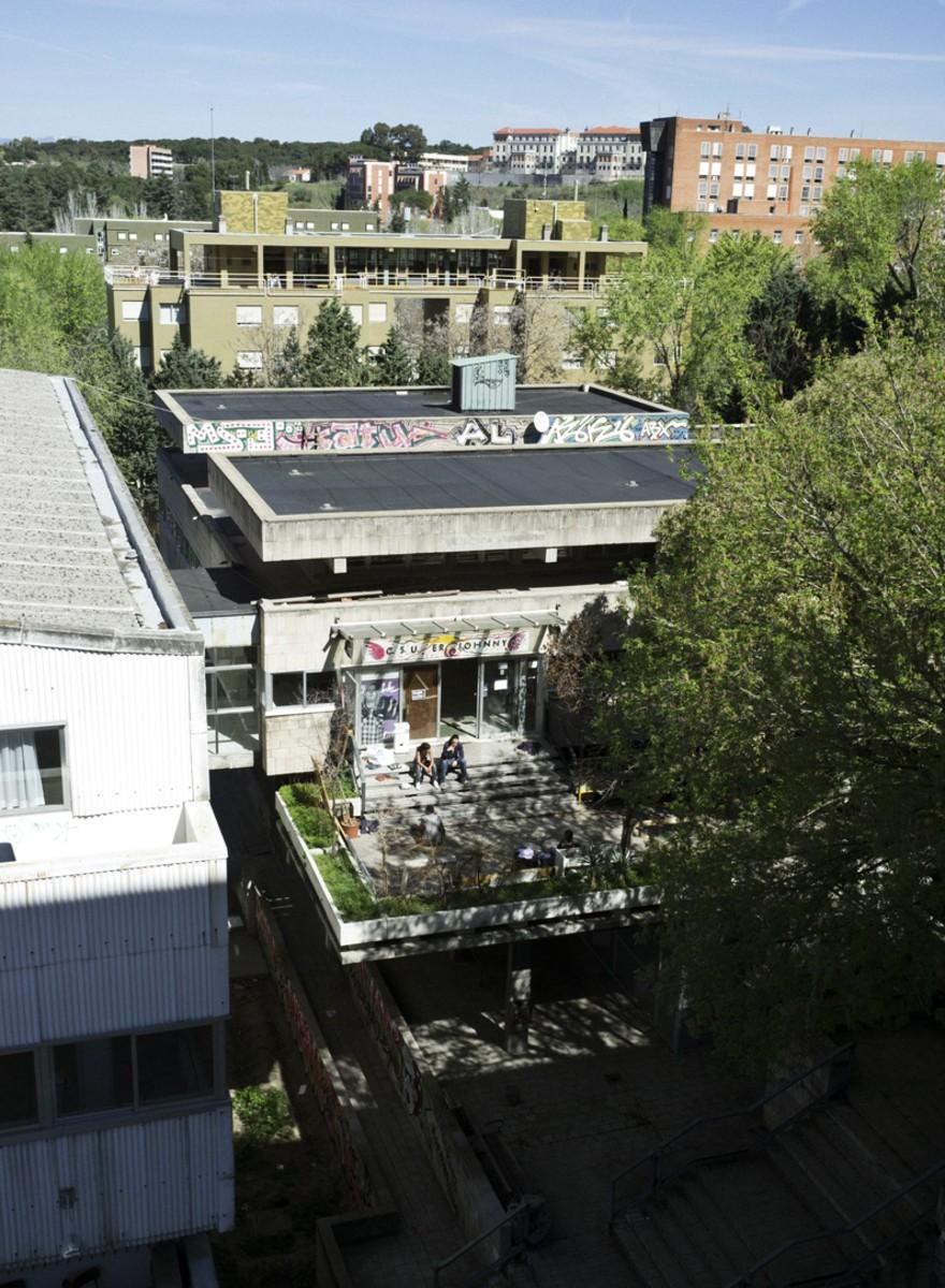 Las tripas del colegio mayor okupado de Madrid