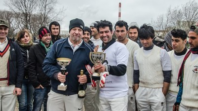 Playing Cricket with Migrants and Anti-UKIP Activists
