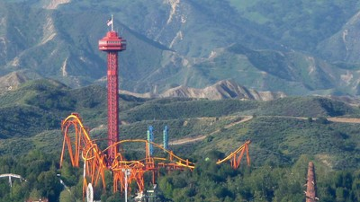 Chasing Adrenaline and Childhood Memories at Six Flags Magic Mountain
