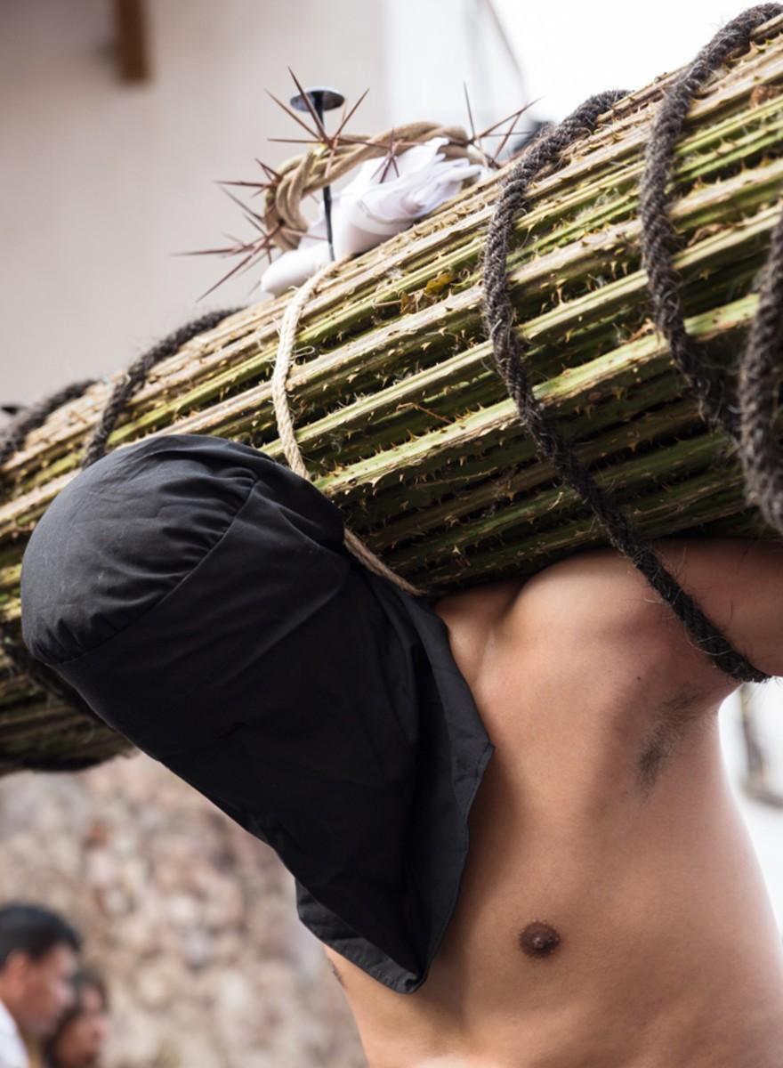 Purga de pecados en Taxco, Guerrero