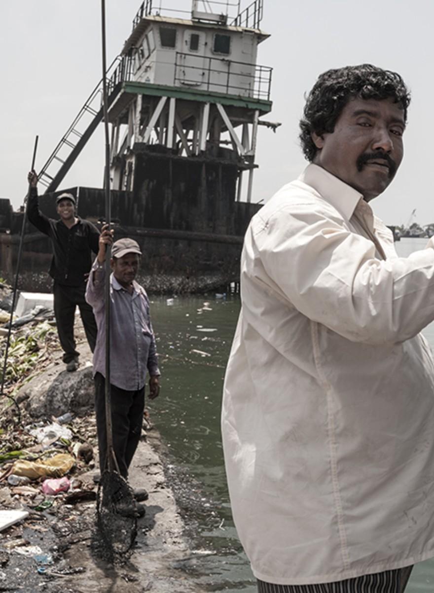 Dit tropische eiland bestaat uit afval