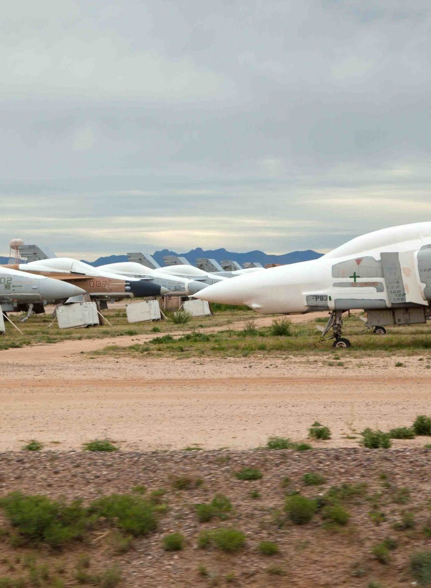 This Scrapyard Contains the World's Second-Largest Air Force