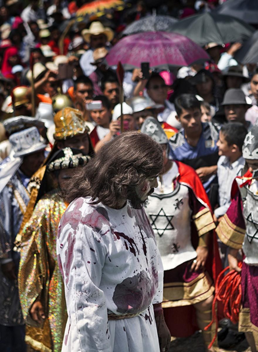 Viacrucis en la Nueva Jerusalén