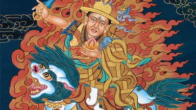 Los seguidores de un iracundo espíritu budista luchan contra el Dalai Lama
