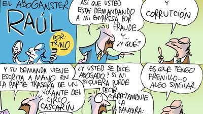 Raúl el Abogánster: Patrocinado por Institutos Patrulla