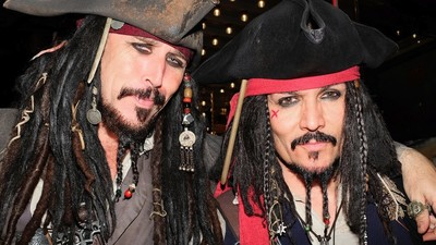 The Secret Lives of Hollywood Boulevard's Johnny Depp Impersonators