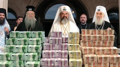 Biserica Ortodoxă e la fel de absurdă ca-n România şi la vecinii noştri din Balcani
