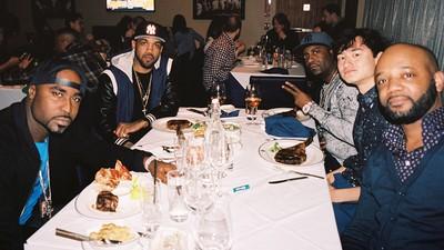La soirée où j'ai bouffé un steak avec le G-Unit