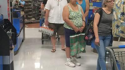 20 heures dans un supermarché
