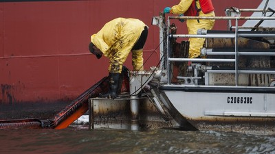 Local Governments in Canada Say the Feds' Response to Vancouver Fuel Spill Was Too Slow