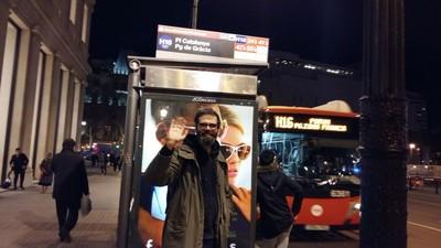 Me pasé toda la noche en los autobuses nocturnos de Barcelona