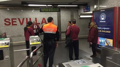 ¿Menos metros pero más revisores en Madrid?