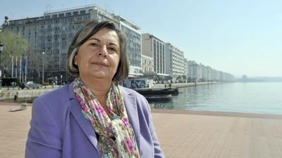 Die Vize-Präsidentin des griechischen Parlaments über Mittelfinger und Grexit