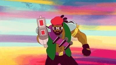 Este es el primer episodio de la caricatura que Diplo hizo con Major Lazer