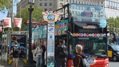 Me pasé un día haciendo el guiri en el bus turístico de Barcelona