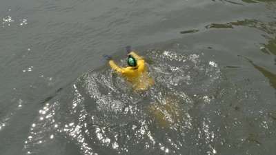 We Talked to the Guy Who Swam New York's Horrifically Polluted Gowanus Canal for Earth Day