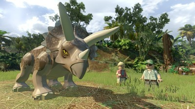 'LEGO Jurassic World' Lets You Play as the Dinosaurs